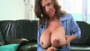 Does what shes told in office together with large tits MILF