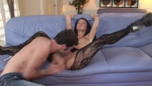 Rough good fucking along with very hawt brunette Victoria Sin