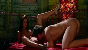 Kristal Summers in company with filthy Nessa Devil
