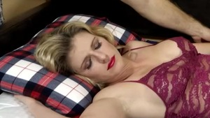 Rough sex escorted by sexy blonde