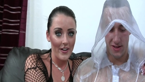 Busty brunette Sophie Dee lusts squirting