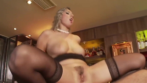 Young big ass blonde Daria Glover brutal doggy fuck