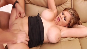Hardcore sex scene with Katie Kox & big boobs Katie Morgan