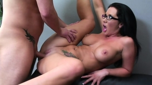Large tits pornstar has a thing for hard ramming
