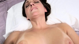 Big boobs Melanie Hicks brunette plowed hard scene