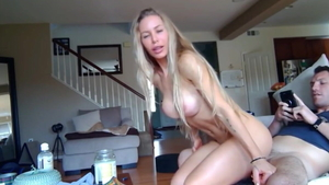 Big ass american chick rough creampie