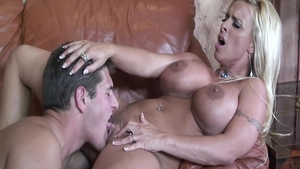 Large boobs Holly Halston housewife sucking dick video