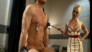 Dominatrix Lorelei Lee pegging