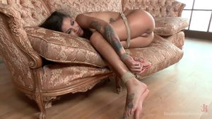 Domination tied up alongside Bonnie Rotten