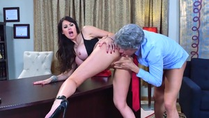 Busty stepmom Eva Karera craving hardcore sex in HD