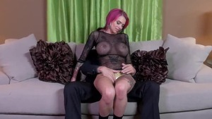 Hard pounding with very sexy redhead