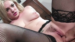 Large tits busty pornstar Dahlia Sky raw getting facial HD