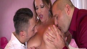 Laura Orsolya threesome