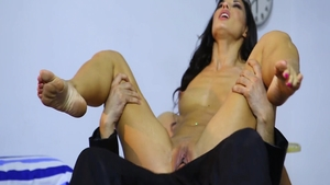 Nailing with large tits brunette Alexa Tomas