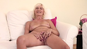 Super slim blonde loves fucking hard