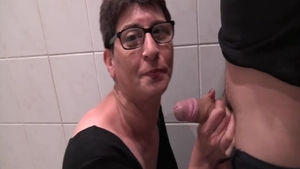 Short haired french babe raw ass fucking
