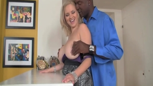 Gonzo fucking hard in company with big butt MILF Katie Kox
