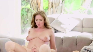 Lesbian Carter Cruise feels up to raw fucking in HD