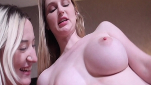 Large tits Chloe Foster and Bunny Colby hard sex sex scene