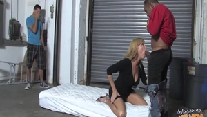 Busty MILF Nicole Moore agrees to rough nailing