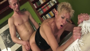 Young erotic MILF softcore creampied