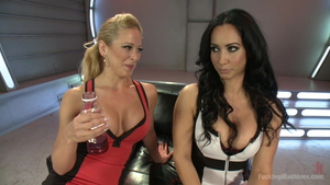 Squirts among large tits mature Cherie Deville