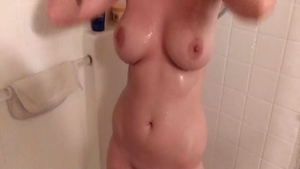 Hard ramming along with big boobs brunette