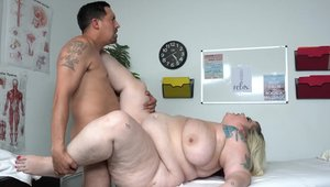 Fat latino bitch massage on the couch