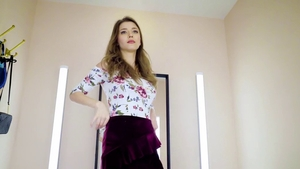 Large tits Mila Azul does what shes told