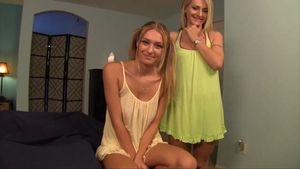 Taboo fingering along with dirty step sister Natasha Starr