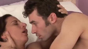 Large boobs cougar James Deen erotic missionary sex in HD