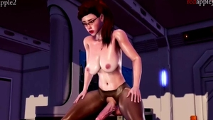 3d asian big tits Pussy fucked