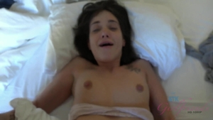 Brunette Gia Paige likes hardcore ejaculation in hotel