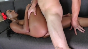 Pussy sex together with big ass ebony pornstar Chanell Heart