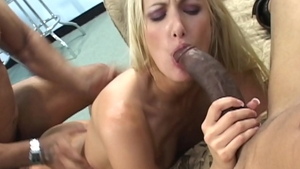 POV toys with blonde Angel Long