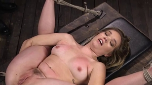 Fingering along with busty supermodel Katie Kush