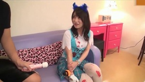 Nailing in the company of japanese amateur Yui Hatano