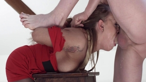 Crazy loud sex in company with charming babe Katarina Muti