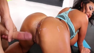 August Taylor in sexy lingerie fun with toys