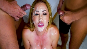 Erotic Kianna Dior pornstar cum in mouth porn