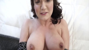 Horny babe Charlotte Cross POV cock sucking pussy eating