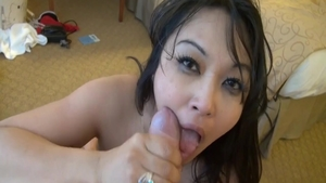 Hard pounding starring tanned babe Mika Tan