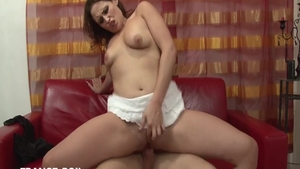 Young french slut finds irresistible slamming hard HD
