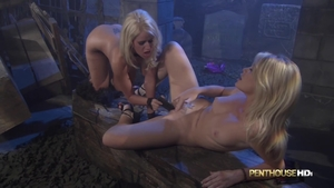 Dirty Alexis Ford fun with toys