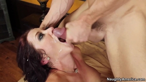 Super hot large tits friend Jayden Jaymes cumshot HD