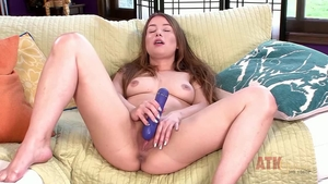 Hairy brunette Taylor Sands wishes hard fucking HD