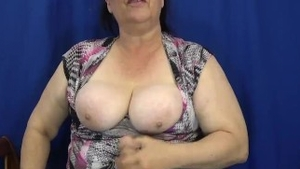 POV pussy sex with chubby mature