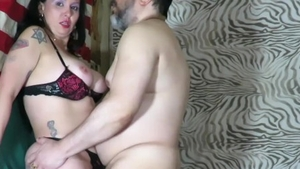 Real fucking accompanied by brazilian model
