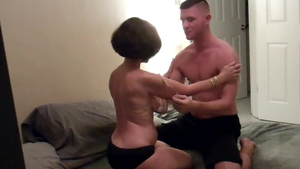 Good fuck in the company of young stepmom