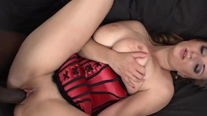 Big tits girl interracial sex HD